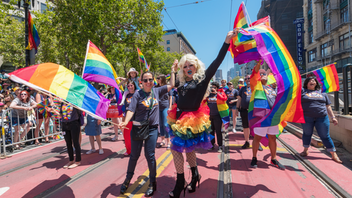 "Major cities across the U.S. flaunt their pride in June, but San Francisco is known for having the oldest celebration in the country. The festivities begin on Saturday in the city's Civic Center Plaza and continue through Sunday morning. In 2018, nearly a million people turned out for the weekend, including 50,000 marchers and 282 participating groups. The 2019 theme is ""Generations of Resistance."" Next: June 29-30, 2019"