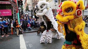 San Francisco's first Chinese New Year Parade was in the 1860s. By the 1970s, it had grown from a small celebration into an event that required support from city services. In 1987, when local news stations started broadcasting the parade, the Chinese Chamber of Commerce opted to lean into corporate sponsorships and expand the slate of activities—the Flower Market Fair, the Miss Chinatown USA Pageant and Coronation Ball, and the Community Street Fair—leading up to the parade. Today, the San Francisco Chinese New Year Festival & Parade, sponsored by Southwest Airlines, is the largest celebration of its kind in the United States, attracting more than three million spectators and television viewers throughout the U.S., Canada, and Asia. Next: February 8, 2020