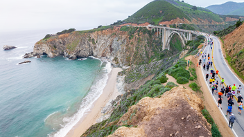 One of the most iconic marathon courses in the world, the Big Sur Marathon treats participants to coastal vistas, a trip through a Redwood forest, and a jog across the Bixby Bridge. For racers who prioritize views, this is a bucket list race. Outdoor retailer REI calls it the most stunning coastal run on Earth, but getting a bib for the race is not guaranteed: The marathon is capped at 4,940 racers, while the total for related runs on marathon days is around 10,000. (There is also a 5K, 12K, 11-miler, 21-miler, and a relay that all run along Highway 1 on the same Sunday morning.) Next: April 26, 2020