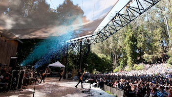 Since 1938, the Stern Grove Festival Association has hosted a free summer concert series. In 2018, the festival had 18 acts perform for approximately 65,000 people. In 2019, there are 17 acts scheduled, and organizers are projecting an overall attendance of 75,000. The series regularly includes San Francisco Symphony and Ballet performances; shows start at 2 p.m. on Sundays in Stern Grove. For concertgoers who want a V.I.P. experience at the festival, picnic tables can be reserved either through the festival's picnic table lottery or with a $500 minimum donation. Next: June 16-August 18, 2019