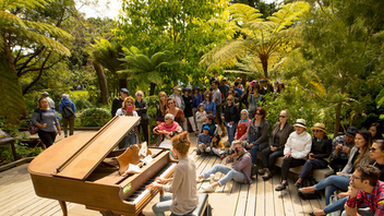 Up from #11 Flower Piano looks like a vision set in a dream. For 12 days each summer, 12 pianos are set up throughout the San Francisco Botanical Garden. Anyone can play, though professionals are scheduled for weekends and special events like Flower Piano at Night. For its fifth anniversary, expect more performances by professional musicians, events for families (including the new Flower Piano at Sunset), a community sing-along, free piano lessons, and three editions of Flower Piano at Night, an after-dark event with food trucks and outdoor bars. The 2018 edition counted more than 140 performers and 61,000 guests. Next: July 11-22, 2019