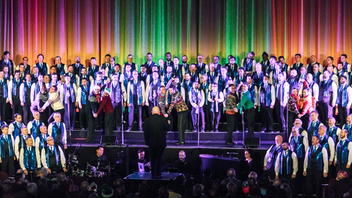 "Up from #8 Combining razzle-dazzle with holiday cheer, the San Francisco Gay Men's Chorus performs three sold-out Christmas Eve shows at San Francisco's Castro Theatre each year. In 2018, more than 140 people participated on stage in the chorus, as band members, and in production roles, while more than 3,800 spectators attended the three performances. ""It simply wouldn't be the holidays without the bodacious extravaganzas that could only come from the San Francisco Gay Men's Chorus,"" says chorus artistic director Tim Seeling. ""They sing, they dance, they are perfectly irreverent. They've been giving holiday performances for 41 years. They've got it down pat."" Next: December 24, 2019"
