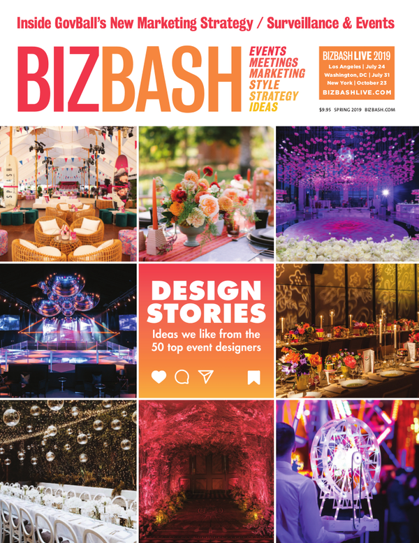 BizBash Magazine The 2019 Design Issue