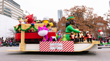Amusement park Canada's Wonderland comes on board in 2019 as a sponsor for the world's longest-running parade, featuring a new float that celebrates its holiday event, WinterFest. About 850,000 kids of all ages are expected to view the parade in person along a new route, while thousands more watch CTV's live coverage. Next: November 17, 2019