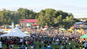 Up from #9 New to this 65,000-person grilling-theme dance party this year will be a food demonstration tent and additional parking at suburban Centennial Park. Grace Foods returns as the title sponsor and TD Bank as the presenting sponsor. The Junior Chef Challenge was a definite highlight from 2018. Next: August 1-11, 2019