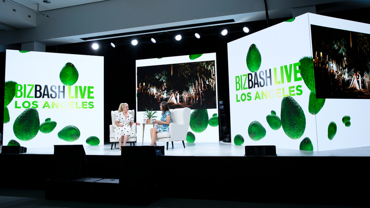 BizBash editor in chief Beth Kormanik (right) sat down with designer Kristin Banta to discuss tools, tips, and strategies for effective event design.