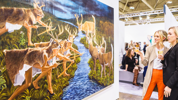 Attendance stayed level as about 23,000 collectors, gallerists, artists, and enthusiasts returned to the Metro Toronto Convention Centre for Canada's largest modern and contemporary art fair in 2018. Sales to institutions and private and corporate collectors were strong, and RBC was the presenting sponsor again. Next: October 25-27, 2019