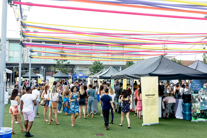 The inaugural Wine Fest Toronto took place July 5 and 6 at the CF Shops at Don Mills, Town Square. The event served some 60 different wines from winemakers in more than 12 countries.