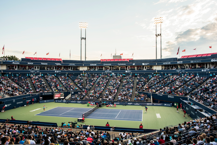 The annual Rogers Cup tennis tournament takes place August 3 to 11 at the Aviva Centre in Toronto. This year, attendees who present their ticket can take a free subway ride home.