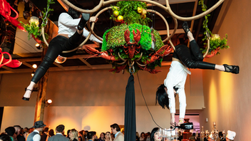 "Up from #8 This hedonistic and edgy art gala raised more than $330,000 for the Power Plant in 2019, with attendance level at 1,300 and a ""speakeasy"" theme inspired by the 21 Club for the event's 21st year. High-end department store Holt Renfrew was the new presenting sponsor. Next: June 4, 2020 See more: This Toronto Art Benefit Took Guests to a Surreal Speakeasy"