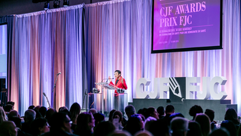 About 500 journalists and media executives attended the gala honoring courageous and impactful reporting, held at the Fairmont Royal York in June. The Lifetime Achievement Award went to John Honderich, chair of Torstar Corp., and sponsors included Labatt Breweries of Canada and Thomson Reuters Canada. Next: June 2020