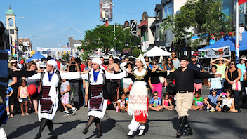 """About 1.6 million Torontonians are expected again this year for a multicultural food fest """"with a dollop of tzatziki on top."""" Local restaurateurs will offer $6 tasting menus, while the Celebrity Stage, presented by OLG, will feature more than 40 Bollywood dancers. The Sports Zone promises appearances by athletes from Toronto's professional sports teams. Next: August 9-11, 2019"""
