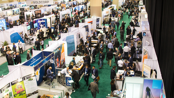 Attendance was level in 2019, at 25,000, with delegates from 130 countries taking in mining-related seminars and discussions from 550 speakers. Highlights included Canadian Prime Minister Justin Trudeau speaking with the convention's president in front of an audience of 300, the Awards Gala, and the Mineral Outlook Luncheon. Next: March 1-4, 2020
