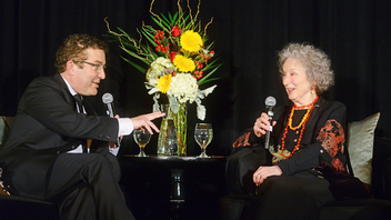 Up from #7 The literary-political gala moved to a larger venue, the Carlu, and hosted a sold-out crowd of 275 this year where tributes were paid to Canadian power couple Margaret Atwood and Graeme Gibson. Comedian Rick Mercer led the live auction, helping set a fund-raising record for the organization. Next: Spring 2020