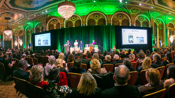In 2019, for the second year in a row, the Fairmont Royal York will welcome this gala award ceremony honoring Canadian cookbooks, blogs, and food writers. The event sold out, with 550 attendees, in 2018, when Lynn Crawford won gold for Farm to Chef. Major partners include the Toronto Star and the Egg Farmers of Ontario. Next: October 27, 2019