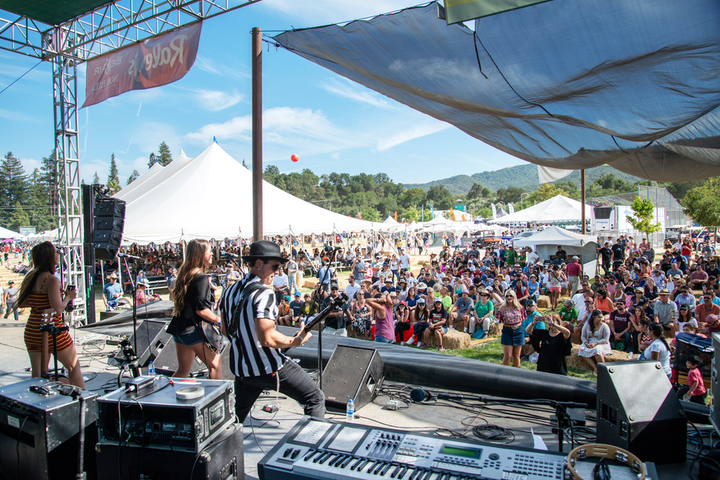 The 2019 Gilroy Garlic Festival in Northern California (pictured here in 2018) ended in tragedy when a gunman killed three attendees. The shooting and other recent attacks are prompting event producers to rethink their safety plans for staff and attendees.