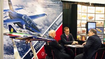 Co-located in Abbotsford with the Canadian Business Aviation Association's annual convention, the expo attracted a trio of federal government ministers as keynote speakers for its 2019 event along with session speakers from the industry including senior executives from Lockheed Martin and Airbus. The show also includes an innovation forum as well as an exhibit area at Tradex in Abbotsford. The event's objective is to encourage the growth and improvement of the aerospace, defense, and security industries in B.C. Next: August 2020