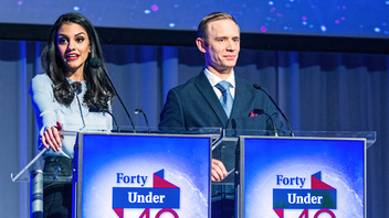 The weekly newspaper Business in Vancouver has been recognizing the achievements of British Columbia's young entrepreneurs, executives, and professionals since 1989. The event has grown steadily over the years with about 650 people at the 2019 gala dinner. Next: January 2020