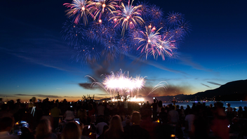 Honda is the title sponsor for the world's longest-running offshore fireworks competition, the Celebration of Light. The event, over three nights, attracts an estimated 1.2-million spectators to what is described as a giant block party on Vancouver's English Bay. In 2019 the three teams represented India, Canada, and Croatia. Apart from the fireworks, festivities include music, food, and entertainment. Next: July/August 2020
