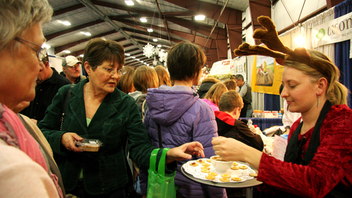 The West Coast Christmas Show was first held in 2008 and marks its 12th year this November. The show has about 100 vendors with a variety of gifts such as original art, crafts, woodwork, toys, specialty foods, home decor, jewelry, candles, and soaps. Next: November 15-17, 2019