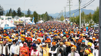 Every April, millions of Sikhs worldwide celebrate Vaisakhi Day, a day that marks the New Year. The Surrey parade dates back to 1998 and is one of the largest outside India, drawing an estimated 500,000 people in 2019. Next: April 2020