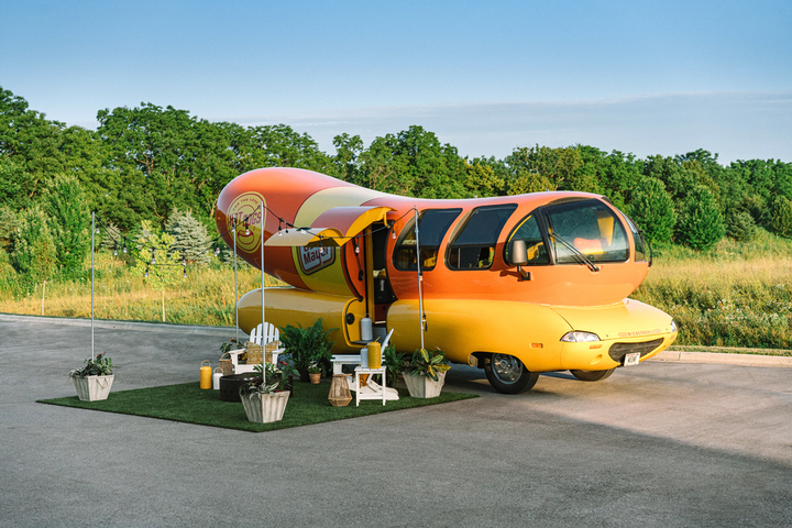 Oscar Mayer's Wienermobile, the brand's hot dog-shape promotional vehicle that has popped up at events for years, recently doubled as an Airbnb through a partnership with the home-sharing company in August. Three pairs of fans were able to book one night each in the 27-foot vehicle, which was located in Evanston, Illinois, just north of the brand's home base of Chicago. See more: Checking In: See How Three Brands Have Launched Innovative Hotel Experiences