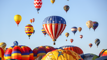 "Albuquerque The sky's the limit at the Albuquerque International Balloon Fiesta, the largest gathering of hot air balloons and balloonists in the world. Themed ""Picture Perfect,"" the 2019 festival will launch more than 580 hot air balloons, including more than 100 registered special shape balloons, over the course of the nine-day festival. Accompanying the airborne entertainment, attendees can enjoy live performances across multiple stages. For fans that can't make it to New Mexico in person, organizers live stream the festivities on Facebook and YouTube with commentary from experienced pilots and veterans of the industry. Next: October 5-13, 2019"
