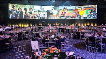 Toronto This black-tie optional event is introducing a new brand identity this year to cement its place among must-attend Toronto galas. After surpassing its 2018 fund-raising goal of $2 million, the event in support of Right to Play is aiming closer to $3 million this year, with 1,200 sports-minded attendees. Sun Life Financial is the new title sponsor. Next: October 17, 2019