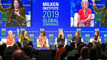 Up from #5 Los Angeles The Milken Institute's Global Conference brings together top players in business, technology, government, philanthropy, healthcare, and entertainment to discuss major issues that affect the world today. The 2019 program balanced hard-hitting conversations about government and finance with stress-relieving activities like yoga, massages, and playtime with puppies. More than 4,000 heavy hitters attended this year's conference at the Beverly Hilton Hotel to gain insights from leaders like IMF Managing Director Christine Lagarde, Goldman Sachs C.E.O. David Solomon, and Ivanka Trump, whose lunch session on shared prosperity was the week's hottest ticket. Next: May 2-6, 2020