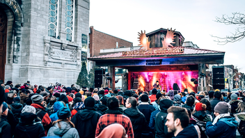 Montreal Attendance fell in 2019 below the previous year's high of 98,000, but organizers of this street fair and lumberjack party are aiming to attract more people in 2020 by marketing in New York and Vermont. Highlights from 2019 included a special beer brewed for the event by Benelux and a bigger site, still in the Verdun area. Next: March 19-22, 2020