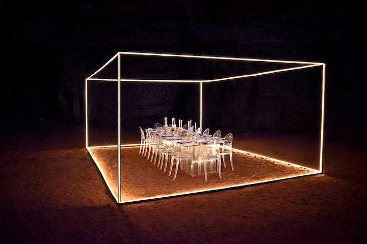 Fashion Designer Nafsika Skourti S The Invisible Room In The Desert Bizbash