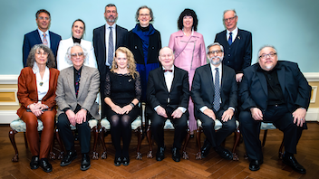 In a ceremony at Rideau Hall, the official residence of Canada's governor general, eight artists were feted for their artistic achievements, which earned them $25,000 each. Vernissage took place at the National Gallery of Canada, and the Canada Council for the Arts was the main funder, administrator, and promoter. Next: Spring 2020