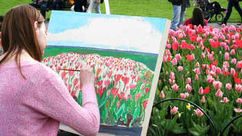 Up from #11 Ottawa Attendance grew to more than 700,000 flower fans this year as the festival consolidated its activities at Commissioners Park. Dutch airline KLM joined as a new sponsor in 2019, when 300,000 tulips were in bloom at festival time. Next year promises an expanded tulip market and commemoration of the 75th anniversary of the liberation of the Netherlands. Next: May 8-18, 2020