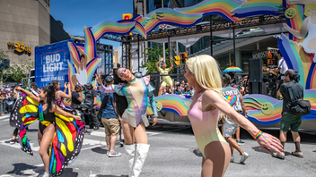 Toronto As a finale to a month of celebrations, this year's Pride Parade featured more than 200 groups performing, marching, and riding on floats on a perfect June afternoon. Gigi Gorgeous, a Canadian YouTuber, actress, and L.G.B.T.Q. icon, was the grand marshal, animating an estimated crowd of about one million people. TD Bank returned as the presenting sponsor. Next: June 2020 See more: Pride 2019: 28 Thoughtful and Colorful Ways Brands Supported the L.G.B.T.Q. Community