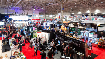 Toronto Attendance grew to 19,500 chefs, owners, managers, and buyers at Canada's top foodservice event in 2019, when the gastronomy contest Bocuse d'Or held qualifying rounds on site and industry talks included a discussion on the impact of cannabis legalization. The show returns to the Enercare Centre in 2020 for its 75th anniversary. Next: March 1-3, 2020