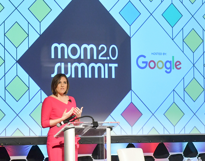 """""""Google doesn't do a lot of event sponsorships, but they value the type of attendees who are a part of the Mom 2.0 Summit, and the level of experience that Mom 2.0 offers as an event and as a community of parenting influencers year-round,"""" Pacini said."""
