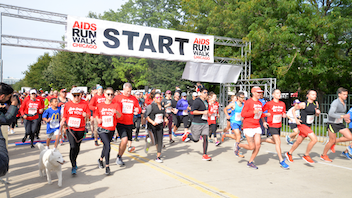 More than 2,500 participants gather for this city race. Along with a 5K walk and a 10K run, the evening features a beer garden and opening and closing ceremonies. This year's run raised money for the AIDS Foundation of Chicago, along with 27 other charitable groups. Next: Fall 2020