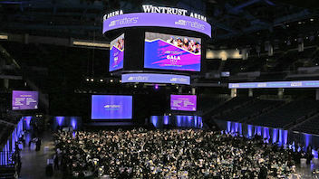 "The 2019 event drew more than 750 civic, corporate, and community leaders to the Wintrust Arena. During the event, corporate sponsor Blue Cross Blue Shield of Illinois lit up its landmark headquarters building to display the words ""After School Matters."" The event featured performances from children who participate in the charity's programs; there was also a gallery that showcased the teenagers' artwork. The event raised nearly $3 million. Next: September 2020"