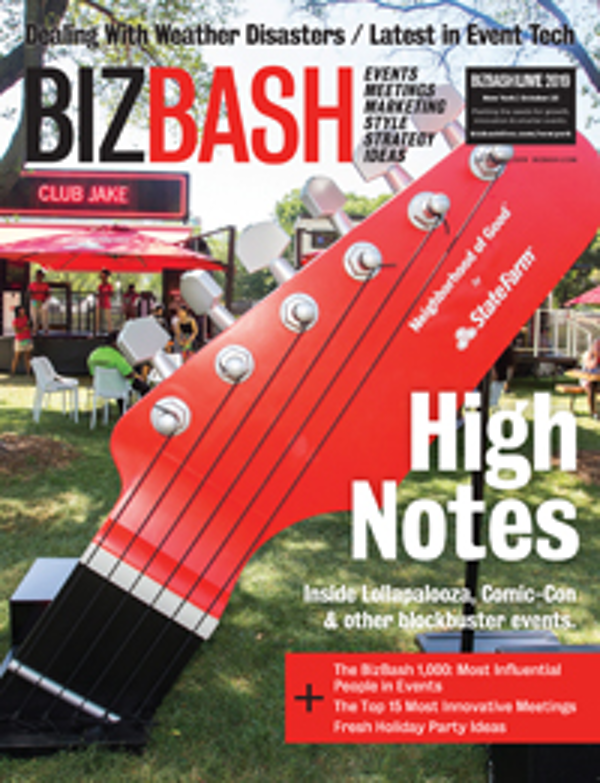 BizBash Magazine 2019 Fall Venues and Holiday Issue