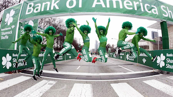 Considered the kickoff for Chicago's outdoor running season, the road race blends an 8K run with a two-mile walk. Some 20,000 local runners participate in the downtown event, and many don green costumes inspired by the Shamrock theme. Next: March 22, 2020