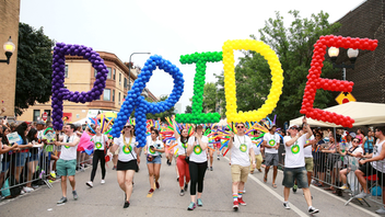 The 2019 parade had special significance, as it celebrated the 50th anniversary of the Stonewall Riots, which marked the beginning of the Gay Rights movement. Plus, this year Chicago's first openly lesbian mayor, Lori Lightfoot, was grand marshal. The rainbow-flecked, high-energy event winds through four miles of Chicago's north side, and draws about one million spectators each year. Next: June 28, 2020