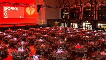 Held at Navy Pier's sprawling Grand Ballroom, the black-tie benefit drew some 1,000 guests and raised $2.9 million. Kehoe Designs washed the room in thematic red decor. Next: April 4, 2020