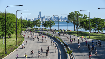 Held over Memorial Day weekend, this event allows some 20,000 cyclists to pedal down a car-free stretch of Lake Shore Drive for five hours. Some cyclists opt to bike the entire 30-mile course, which goes from 57th Street to Hollywood. The ride raises money for the Active Transportation Alliance. Next: May 2020