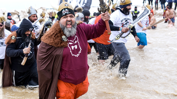 The 2019 plunge broke all fund-raising records in the event's 19-year history: It raked in $1.8 million (the 2018 event raised $1.6 million.) More than 4,200 registered plungers and 600 teams participated in the event by plunging into the frigid waters of Lake Michigan. Big-name plungers included actor David Eigenberg and a team comprised of Chicago aldermen. Next: March 1, 2020