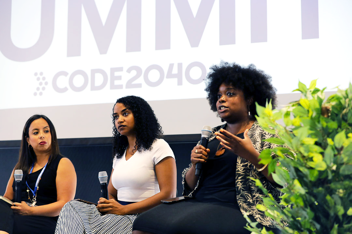 Panels focused on topics such as intersectional leadership, using technology to combat workplace discrimination, and designing a more inclusive industry for black and Latinx communities.
