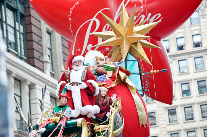 'The unique thing about our parade is that it's three hours long and Santa has to make it to 34th Street at noon,' Tecero says.