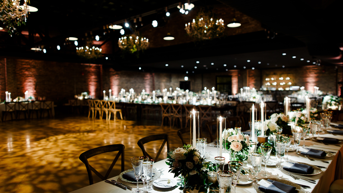 revel motor row wedding