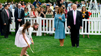 First lady Melania Trump hosted the 141st annual Easter festivities in April, when about 30,000 guests, mostly children, descended upon the South Lawn of the White House. The tradition, held annually, officially dates back to 1878, when Rutherford B. Hayes sat in the Oval Office. While the event is free, tickets are required and are awarded through a lottery. Next: April 13, 2020