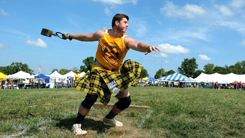 Great Meadow in The Plains, Virginia, transformed once again into the Scottish highlands during the festival. The two-day festival, which began in 1974 and drew over 10,000 attendees, featured athletic competitions such as Caber Toss (log toss); activities like highland dancing, and piping and drumming; Scottish dog rescue booths; and of course, kilts galore. Next: August/September 2020