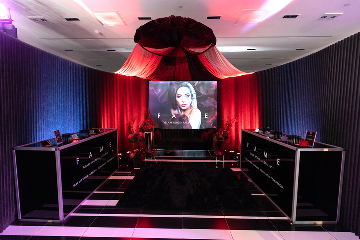 On December 5 and 6, Lady Gaga and Amazon opened the first Haus Labs Beauty pop-up. The two-day shop at the Grove included holiday-theme photo booths and other interactive spaces; Haus Labs' global artistry director Sarah Tanno was on site to offer pro makeup tips. Allied Experiential handled production.